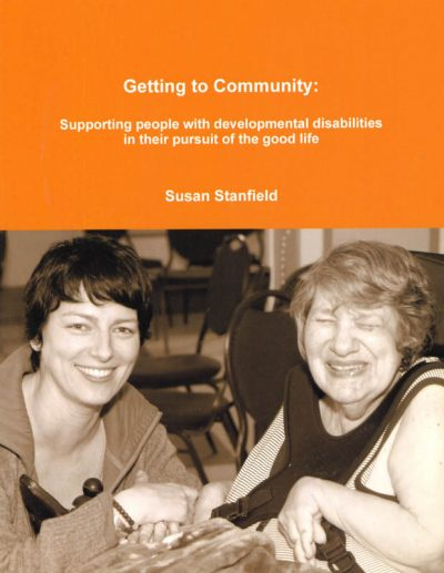 The cover of Getting to Community.