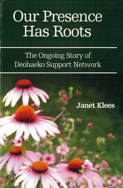 The cover of the book Our presence has roots