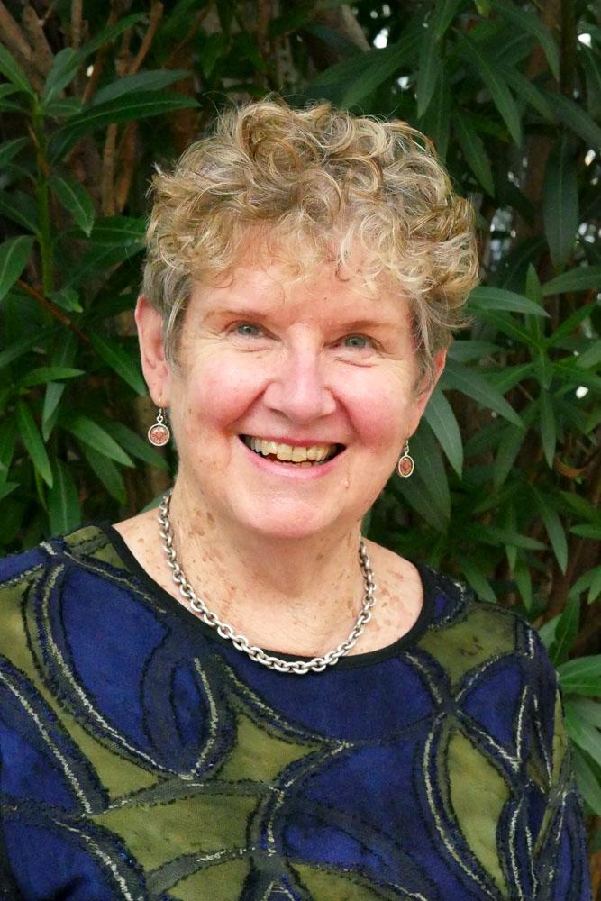 Sue Duncan-Kemp smiling warmly