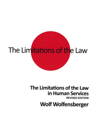 The cover of the book The limitations of the law in human services