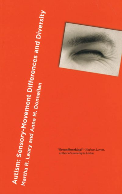 The cover of the book autism movement sensory disorder