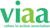 green letters v i a a values in action association