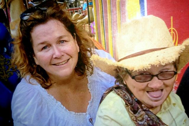 Leanne and Maria Burke