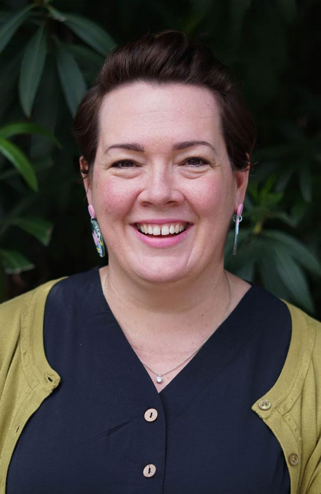 Portrait photo of Kelly Harrison